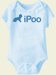 Baby Funny Romper IPOO Infant Blue Babies Creeper
