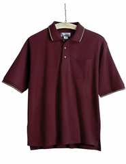 Men's Conquest Tall Sizes Sports Golf Shirt With Pocket