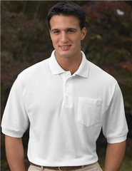 Premium Quality Men's Tall Sizes Caliber Golf Sport Shirt With Pocket