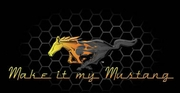 Ford Mustang T-shirts - Make It My Mustang Grill