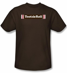 Tootsie Roll T-Shirts - Tootsie Roll Logo Adult Coffee Tee