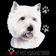West Highland Terrier T-shirts
