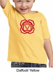 Kids Yoga T-shirt Muladhara Root Chakra Toddler Tee Shirt