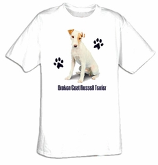 Jack Russell Terrier T-shirt - Cute Dog Adult Tee Shirt