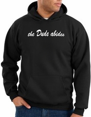 The Dude Abides Hoodie Sweatshirt With Pockets