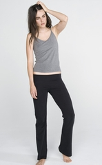 Ladies Yoga Pants - Bella Cotton Spandex Blend