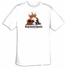 King Charles Spaniel Shirt I'm a Proud Owner of a King Charles Spaniel