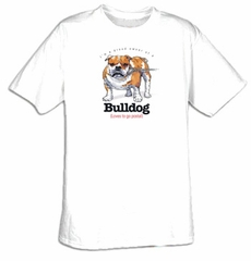Bulldog T-shirt I'm a Proud Owner of a Bulldog Loves to go Postal Tee
