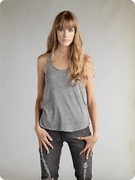 Alternative Apparel Ladies Racerback Tank Tops Meegs Eco Heather Tanks
