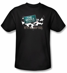 The Middle Kids T-shirt TV Show We've All Been There Black Shirt Youth