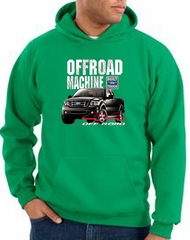 Ford Truck Hoodie F-150 4X4 Offroad Machine Kelly Green Hoody