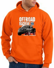 Ford Truck Hoodie F-150 4X4 Offroad Machine Orange Hoody
