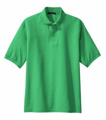 Big Size Silk Touch Sport Polo Golf Shirt