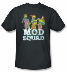 Mod Squad Kids Shirt Run Groovy Youth Charcoal T-Shirt