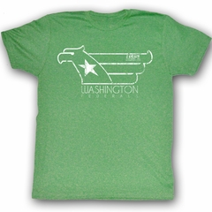 USFL Washington Federals T-shirt Whitehawk Adult Green Tee Shirt