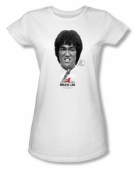 Bruce Lee Juniors T-shirt Self Help White