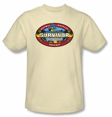 Survivor Kids T-Shirt - Cook Island Cream Youth