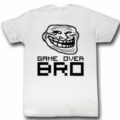 You Mad Shirt Game Over Adult White Tee T-Shirt