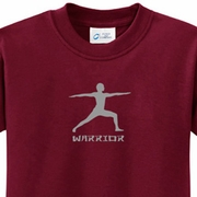 Warrior 2 Pose Kids Yoga T-shirts