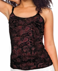 Ladies Yoga Tie Dye Camisole - New Age Yoga Fitted Tanktop