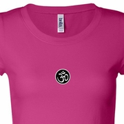 Aum Patch Ladies Yoga Shirts