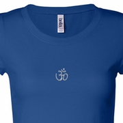 Aum Hindu Patch Ladies Yoga Shirts