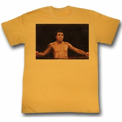 Muhammad Ali Shirt Ali Chillin Adult Orange Tee T-Shirt