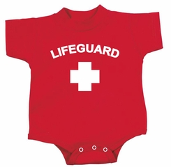 Lifeguard Romper Infant Baby Creeper