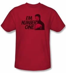 Star Trek Shirt Im Number One Adult Red Tee T-Shirt