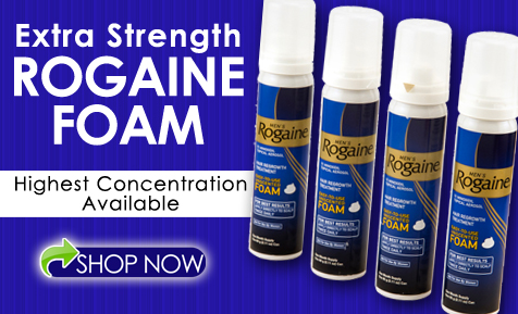 Rogaine Foam Will Regrow Your Hair
