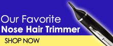 The Best Nose Hair Trimmer - The Remington Rotary Nose Hair Trimmer