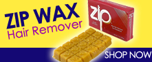 Zip Wax Hair remover wax