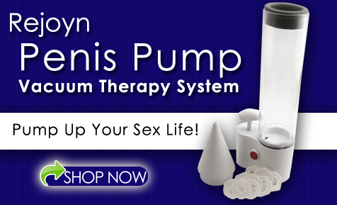 A Vacuum Therapy Penis Pump for Erectile Dysfunction