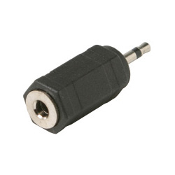 3.5mm Mono Female (Jack) to 2.5mm Mono Male (Plug) Adapter