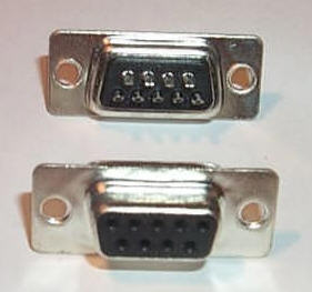 D-Sub Solder Type DB9  Female Connector Cup