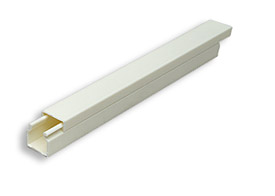 6 ft 16 mm, 0.60 in Surface RaceWay, Ivory (0.6 in x 0.60 in x 6 ft)