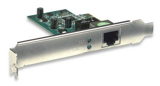 Gigabit PCI Express Network Card, 10/100/1000 Mbps, Intellinet  522533