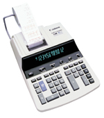 Canon CP1250-D 12-Digit 4.8 LPS Printing Display Calculator Image