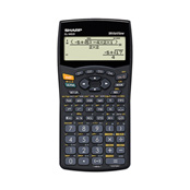 Sharp EL-W535B Scientific Calculator Image