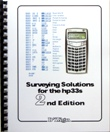 D'Zign Surveying Solutions Book for the HP33s - Allowed on NCEES Tests! Image