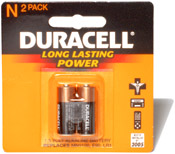 Duracell N Battery 2 Pack Image