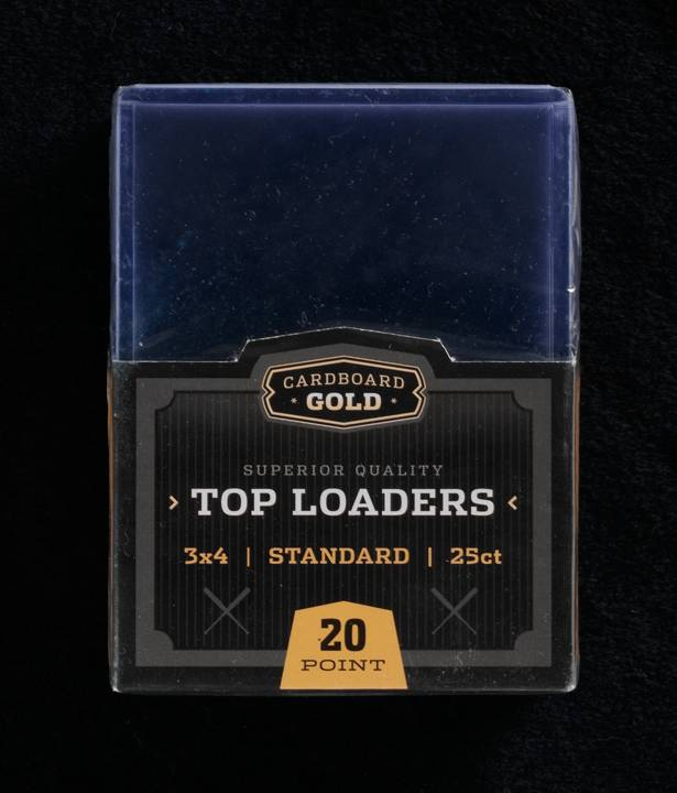 Top Loader 3x4 For Standard Size Trading Sports And Gaming Cards Case1000