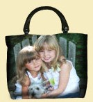 "Turn Your Photo Into A Tapestry Purse 16"" x 12"""