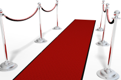 Red Carpet & Velvet Rope Stantions