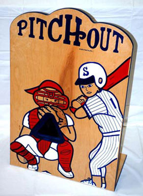 Pitch-Out Baseball Game