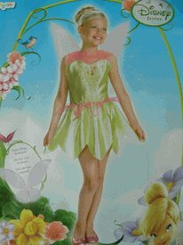 Tinkerbell Costume (Size 4-6X) - Child Size Tinkerbell Costume