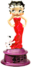 Betty In Red Mini Betty Boop Musical