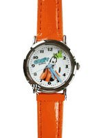 Disney Goofy Wrist Watch w/ leather band