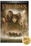 The Lord of the Rings Movie DVD - The Fellowship of the Ring DVD (2001)