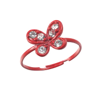 Fashion Toe Ring - Butterfly Toe Ring (Assorted Colors)